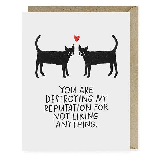 Reputation Cat Card