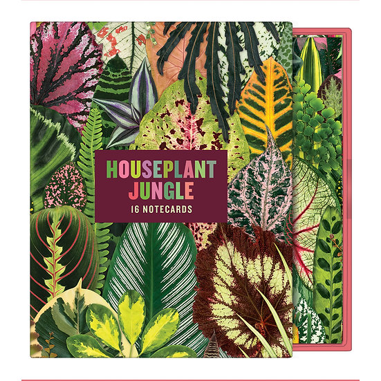 Houseplant Jungle Notecard Set