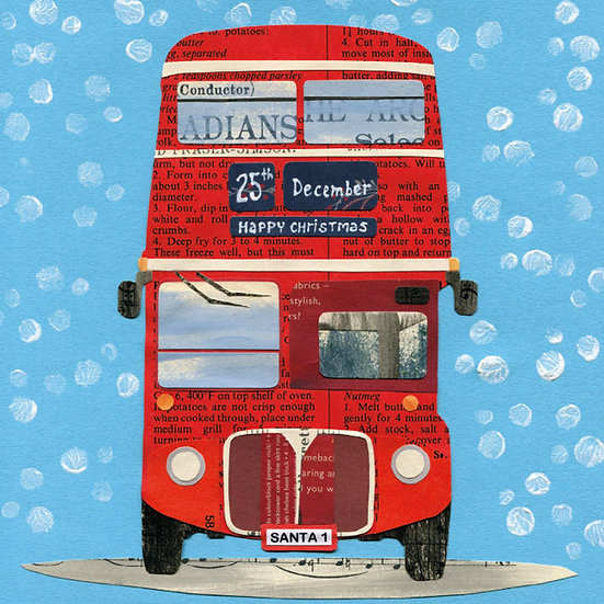 London Bus Charity Card Pack