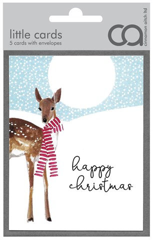 Christmas Deer Mini Card Pack