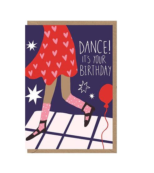 Birthday Dance Card!