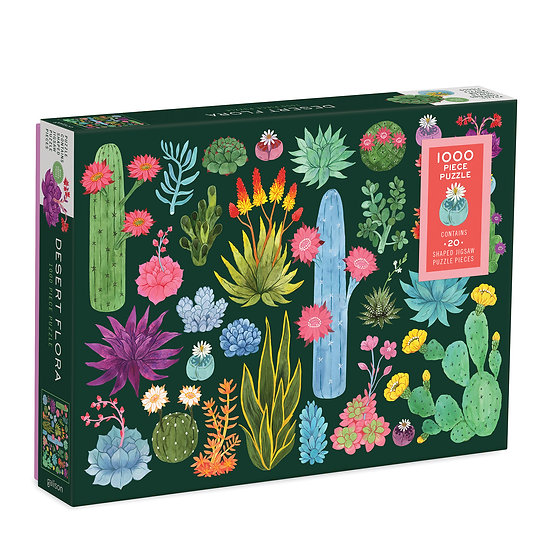 Desert Flora 1000 Piece Puzzle