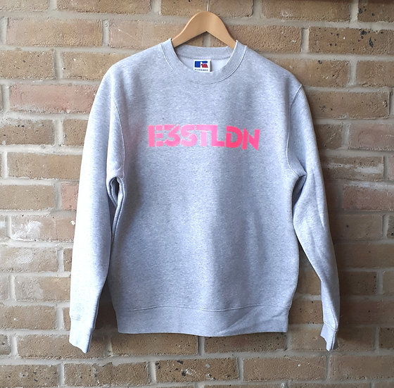 E3STLDN Grey Pink Sweatshirt