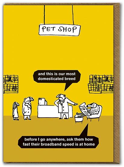 Pet Shop Card