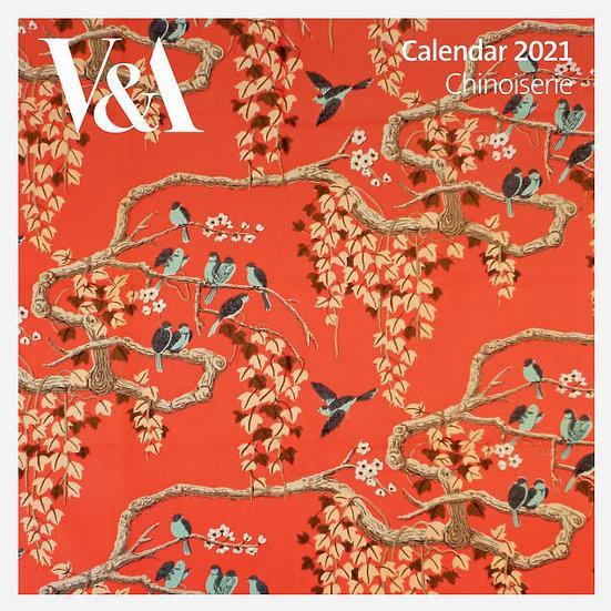 V&A Chinoiserie 2021 Calendar