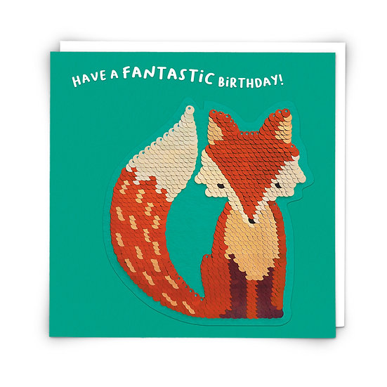 Fantastic Fox Card