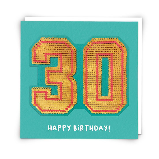 Age 30 Card