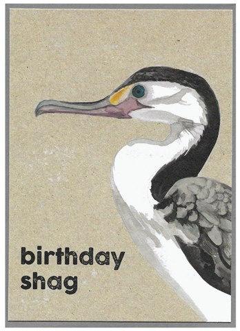 Birthday Shag Card