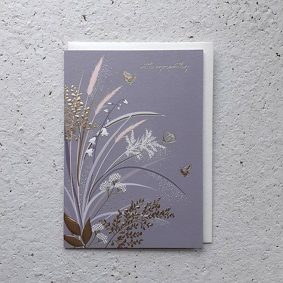 Sympathy Flowers Card
