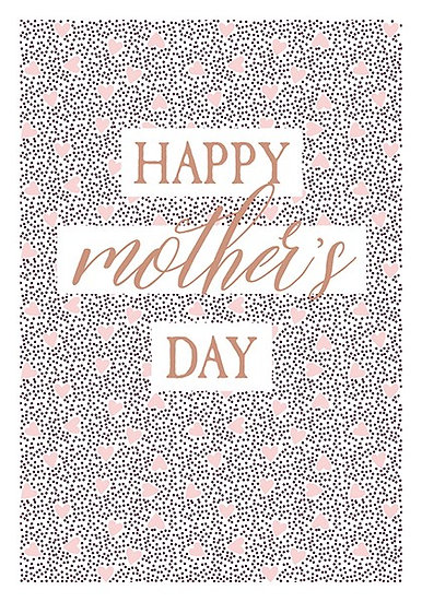 Heart Mother's Day Card