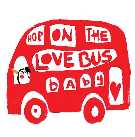 Love Bus Card