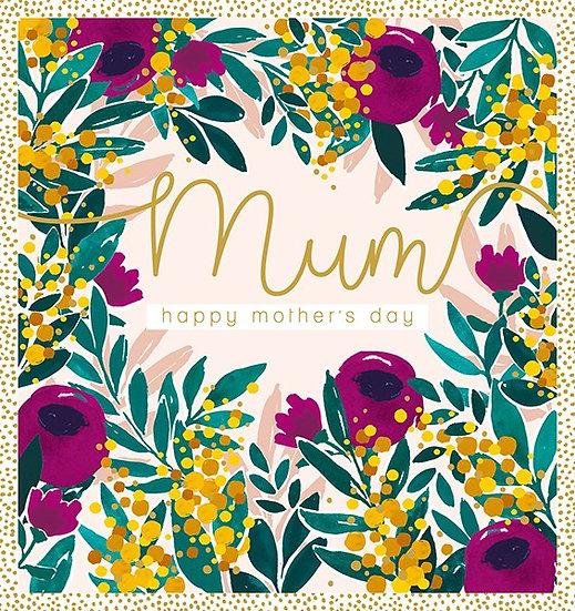 Floral Mum Card