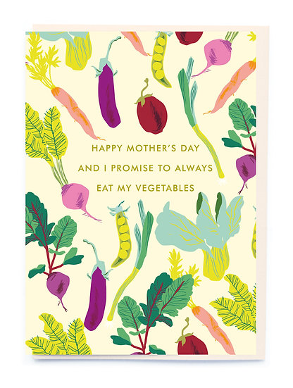 Mother's Day Vegetables Card