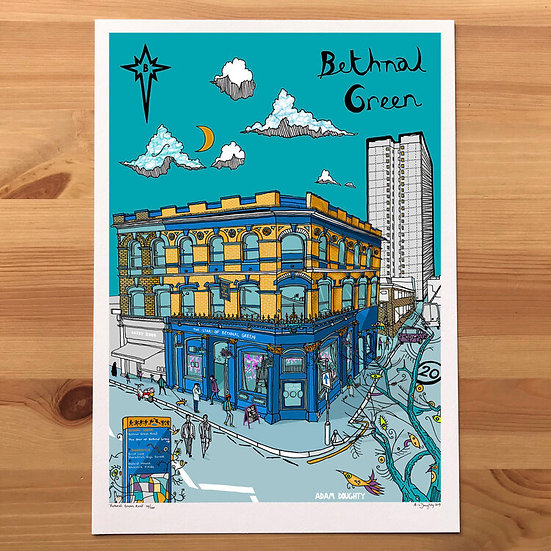 Bethnal Green Road by Adam Doughty