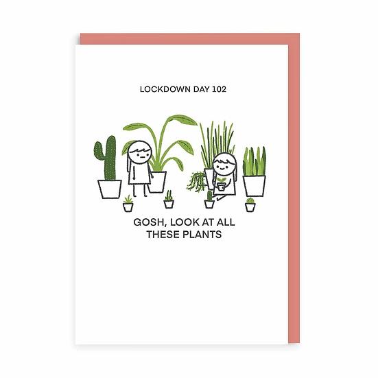 Plant Lockdown Card