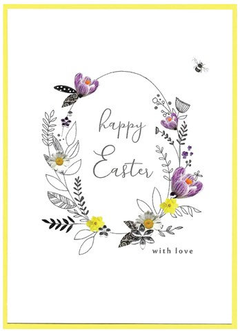 With Love Easter Card