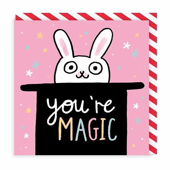 Magic Bunny Card