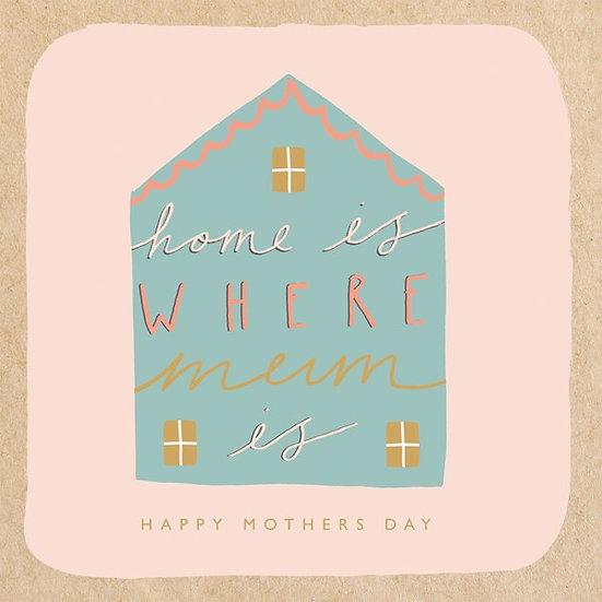 Mum Home Card