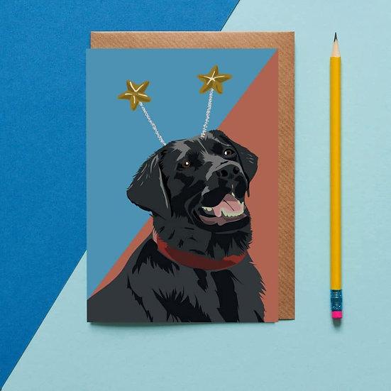 Deely Bopper Dog Card