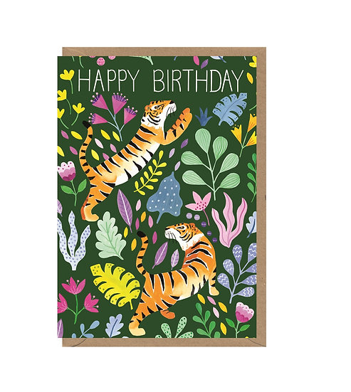 Birthday Tigers Card