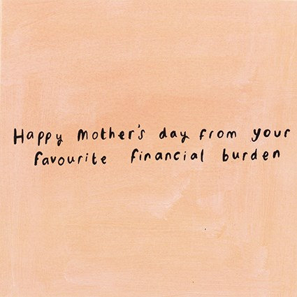 Financial Burden Card