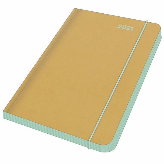 Mini Flexi Diary 2021 Mint
