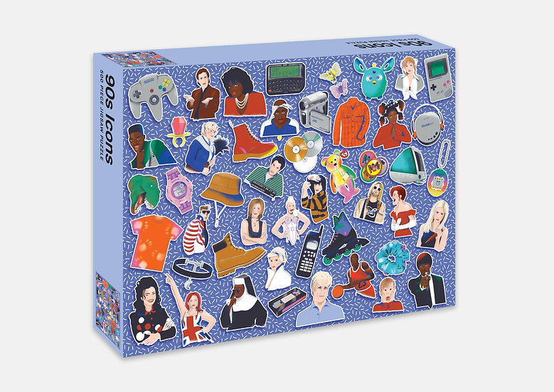 90s Icon 500 Piece Puzzle