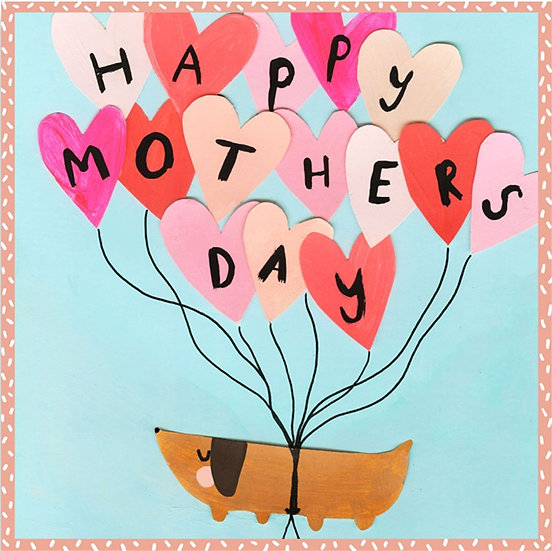 Mother's Day Balloon Card