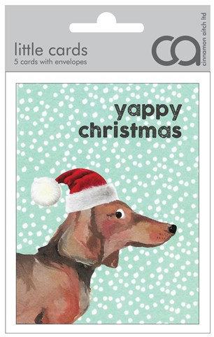 Yappy Christmas Mini Card Pack