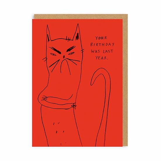 Bitter Kitty Card