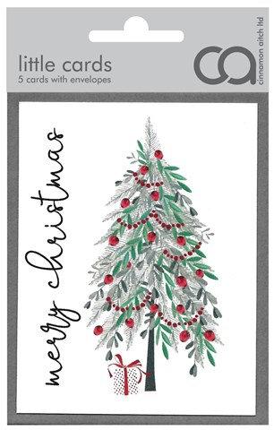 Christmas Tree Mini Card Pack