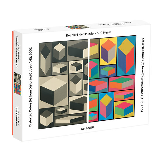 Mona Sol Lewitt Double Sided 500 Piece Puzzle