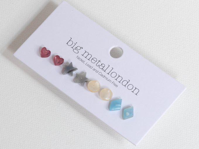Pastel Resin Earring Set