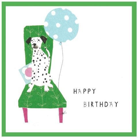 Birthday Dalmation Card