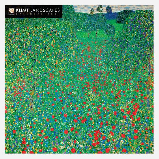 Klimt Landscapes 2021 Calendar