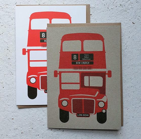 No 8 Bus Card Set