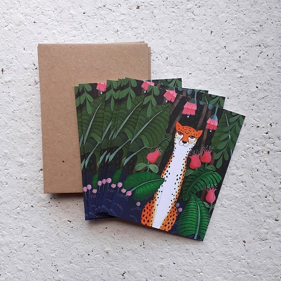 Leopard Mini Card Pack