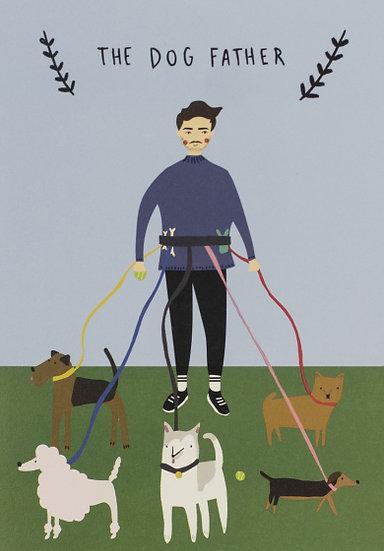 Dog Father Card
