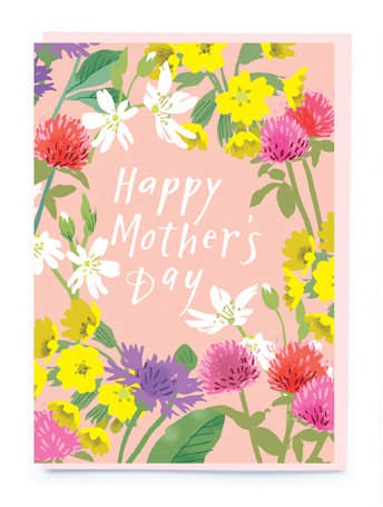 Meadow Flowers Mother's Day Card