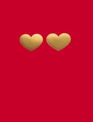 Mini Hearts Card
