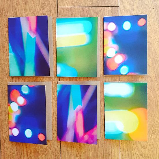 Neon Card Set