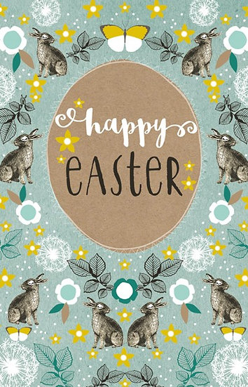 Bunnies Easter Card Pack