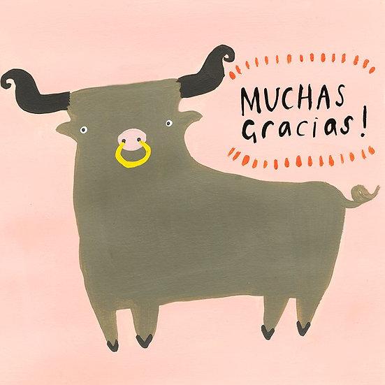 Muchas Gracias! Card
