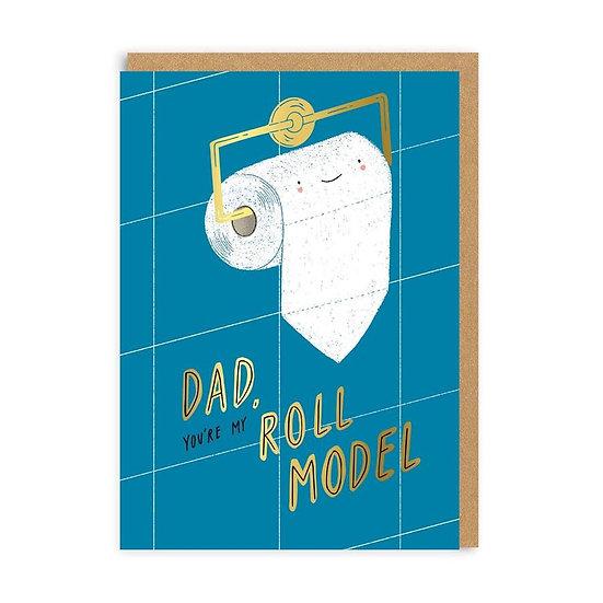Roll Model Dad Card