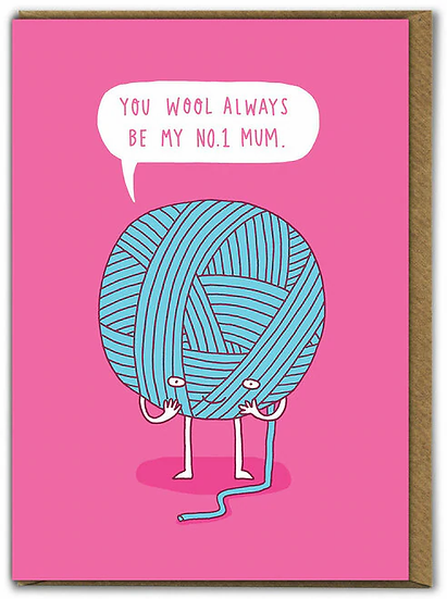 Mother's Day Wool Card