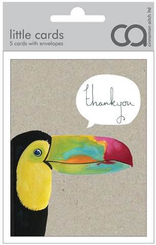 Thank You Toucan Mini Card Pack