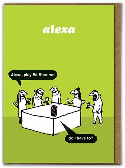 Ed Sheeran Card