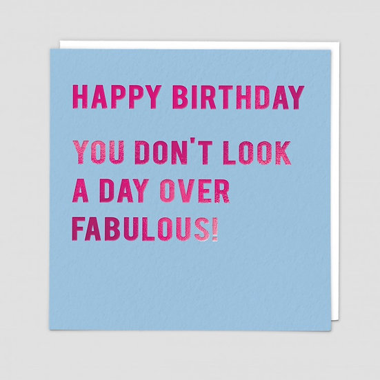 Birthday Fabulous Card