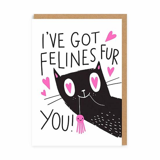 Felines Fur You Card