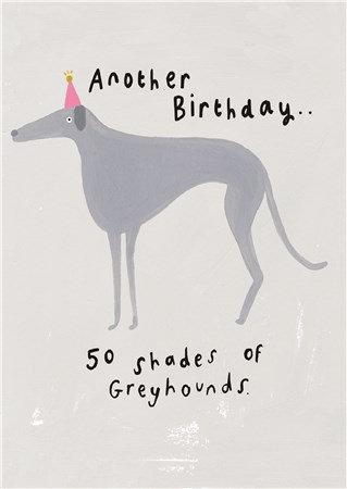 50 Shades Birthday Card